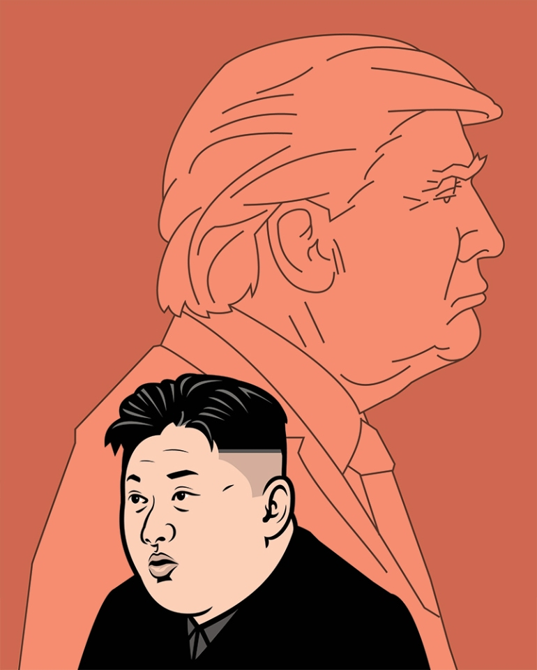 Nathan_Daniels Donald Trump and Kim Jong-un