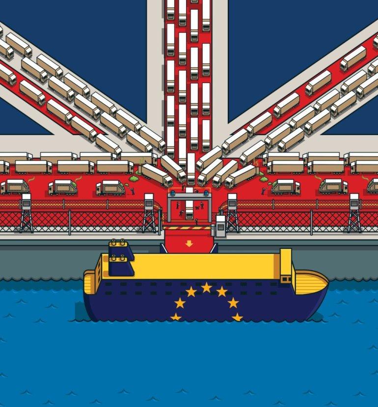 brexit ferries